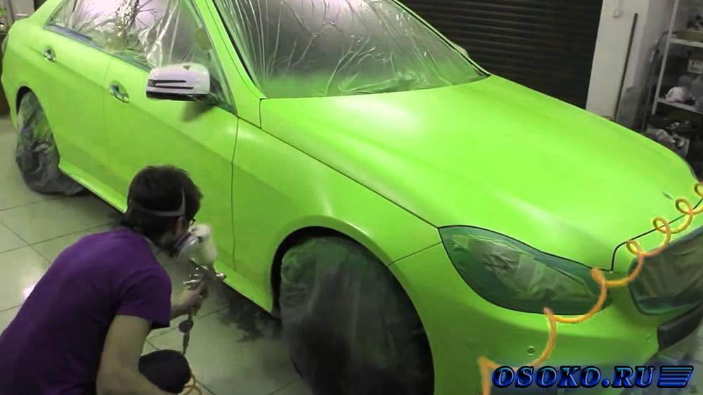 Как покрасить машины своими руками 86