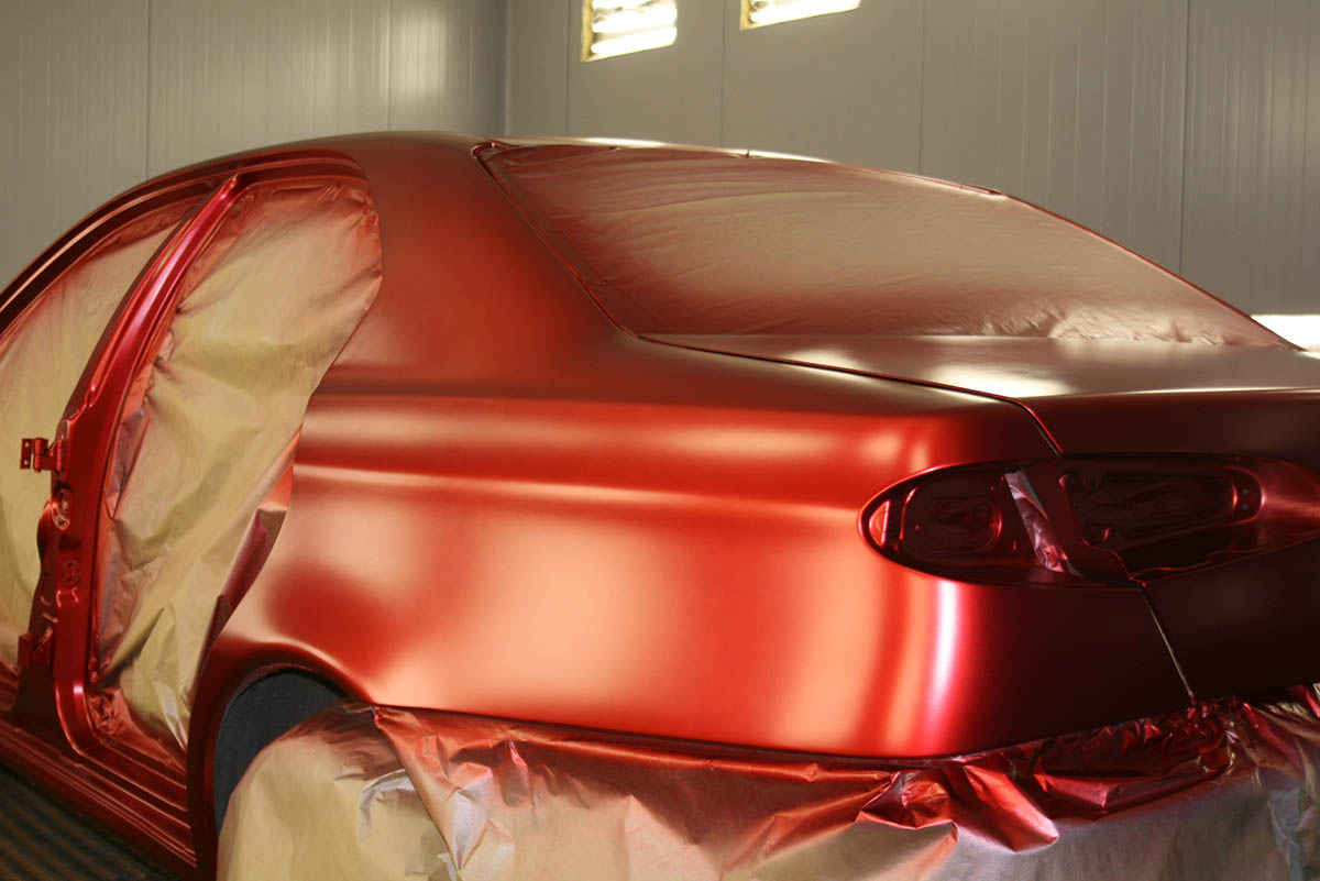 Покраска авто пленкой своими руками