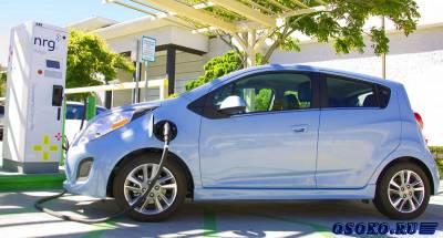 Электрокар Chevrolet Spark EV