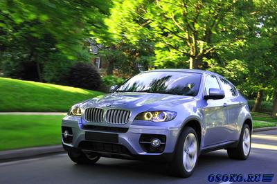 BMW Active Hybrid X6 самый мощный гибрид