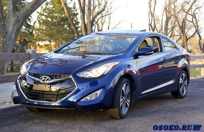 Hyundai Elantra – экологичный и экономичный