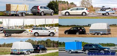 В чем польза использования на легковых автомобилях прицепов
