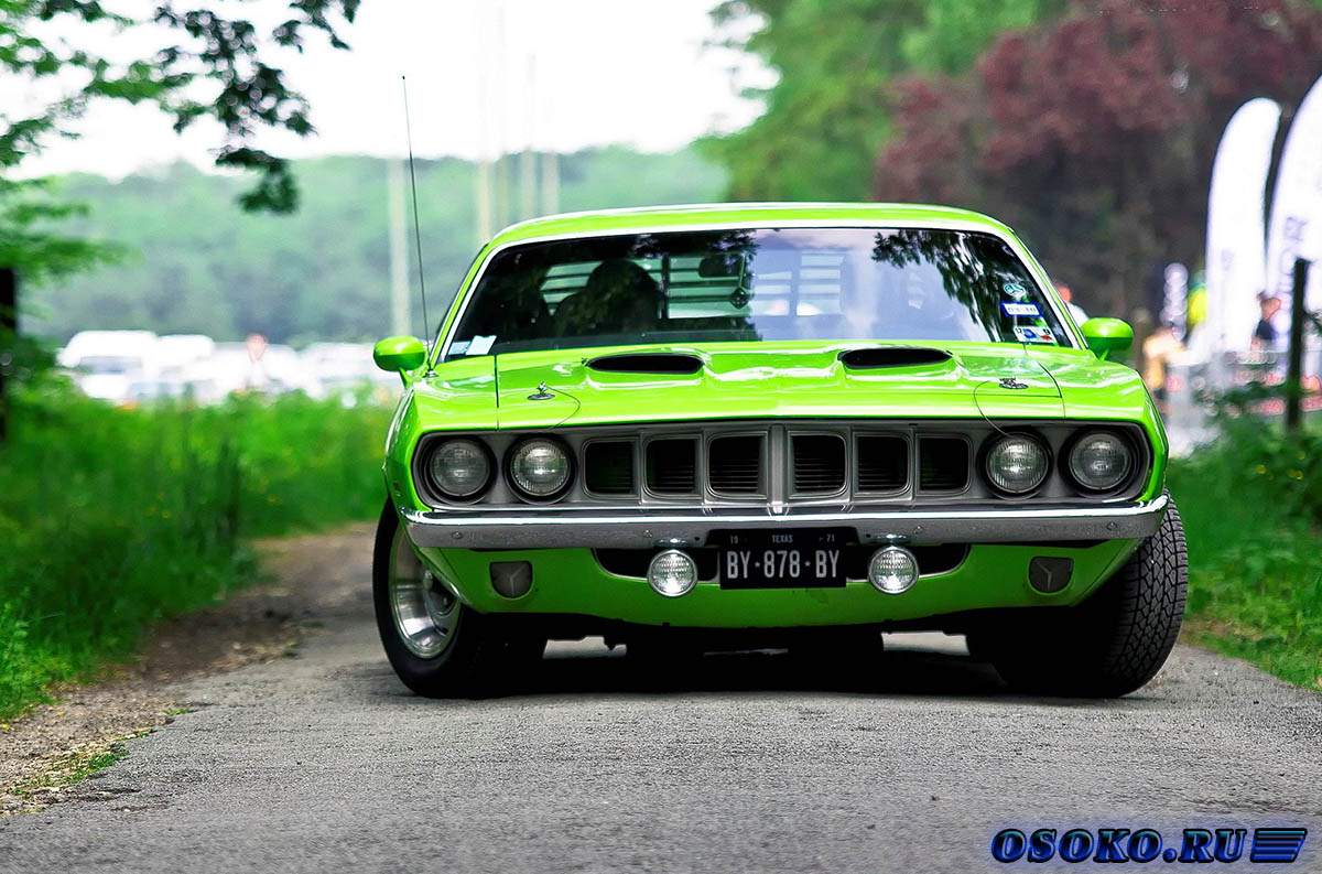 Отзыв автовладельца Plymouth Barracuda