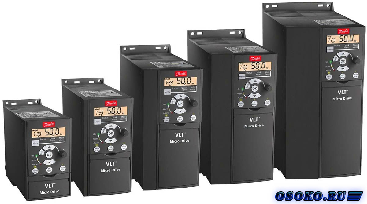 Частотный преобразователь fc-051p2k2 схема подключения