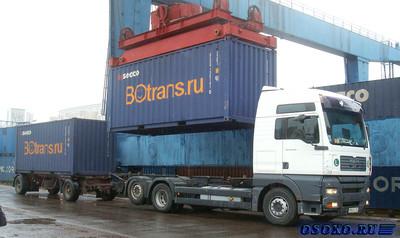 Особенности перевозки грузов в контейнере