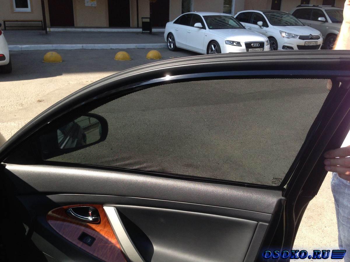 Каркасные шторки в машину своими руками