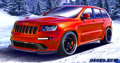 Hennessey Jeep SRT600 Turbo