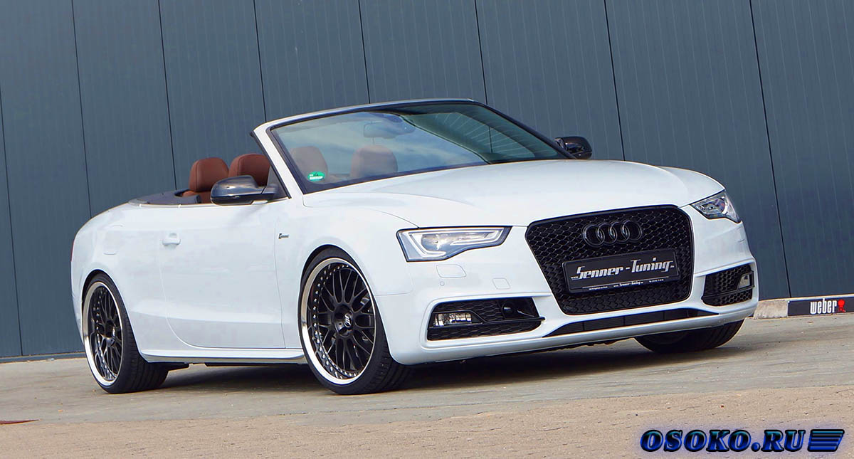 Audi S5 Cabriolet от тюнинг STaSIS Engineering
