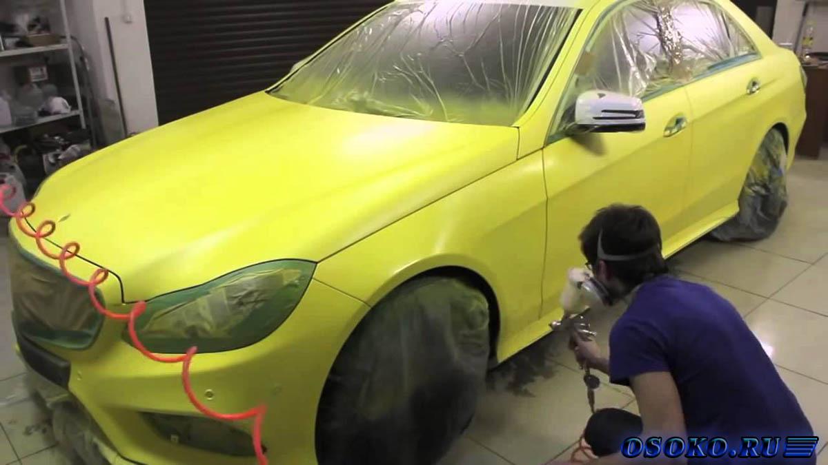 Перекраска авто в другой цвет своими руками