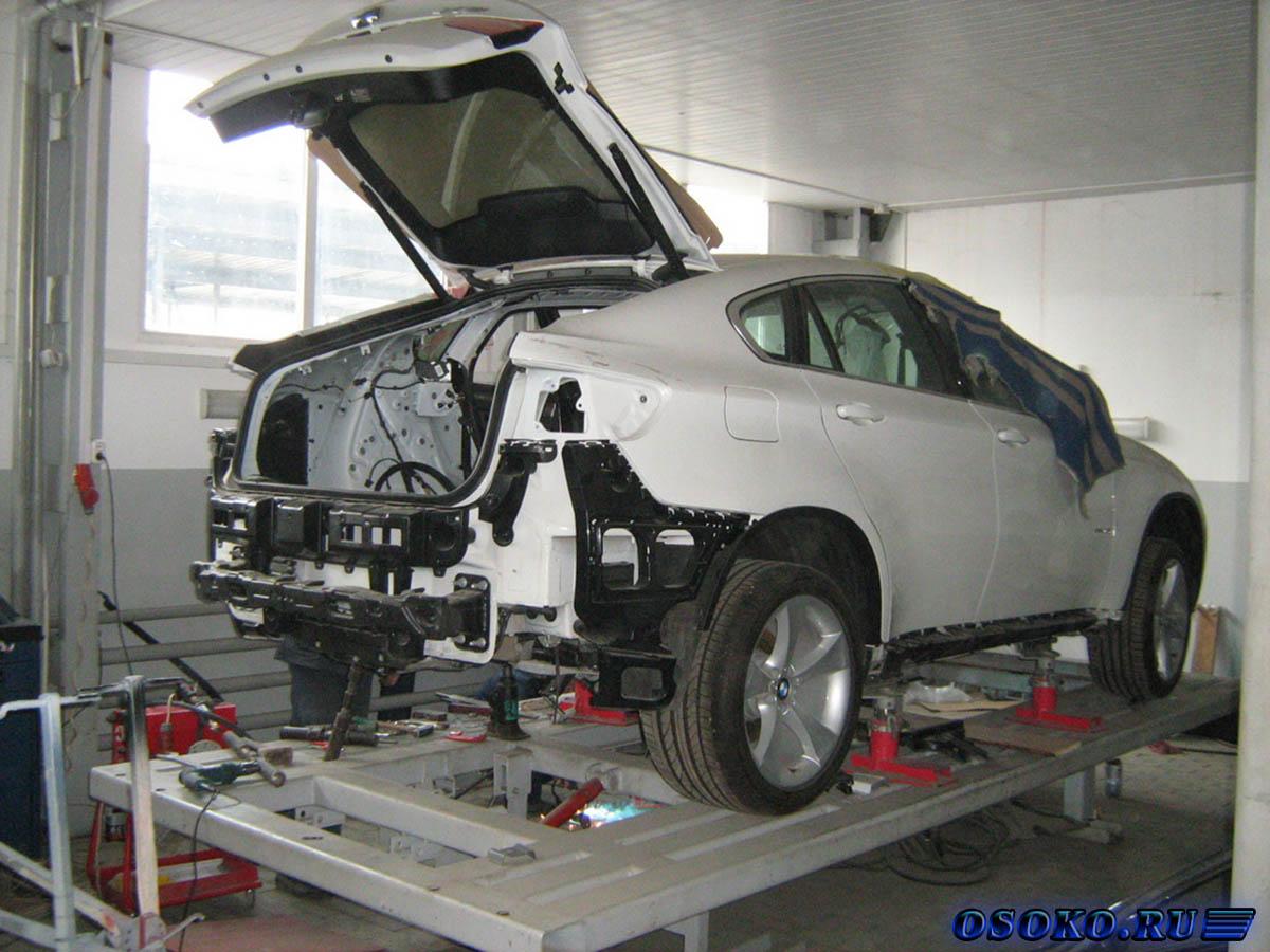 Кузовной ремонт авто в домашних условиях