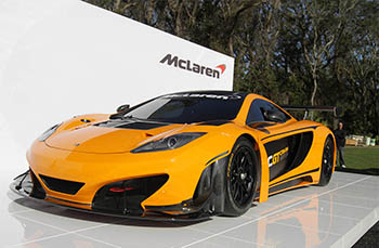 Суперкар McLaren MP4-12C Can-Am 2012