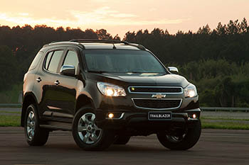 Jeneral Motors отзывает 500 тысяч Chevrolet TrailBlazer