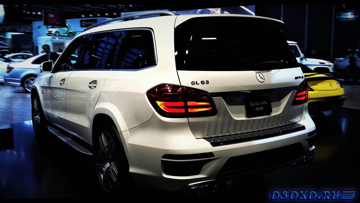 Новый Mercedes GL V12 Bi-turbo