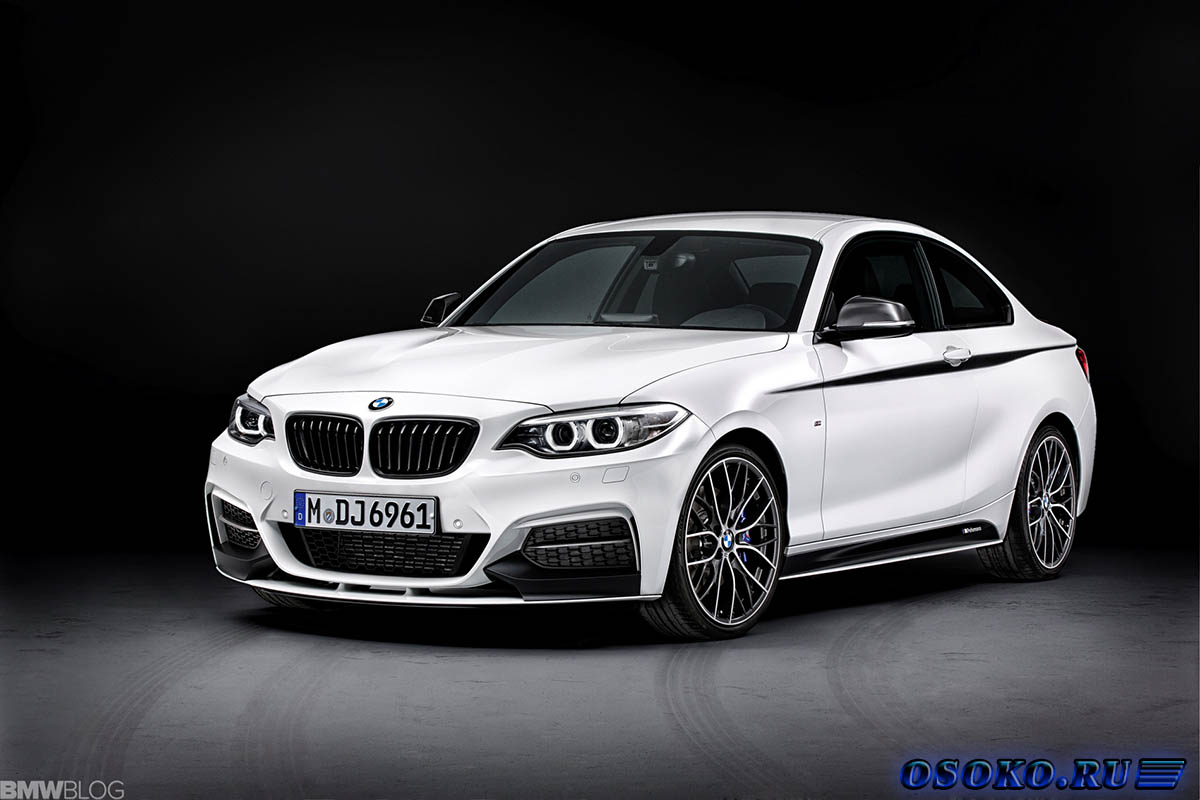 BMW 2-Series Coupe with M Performance Parts