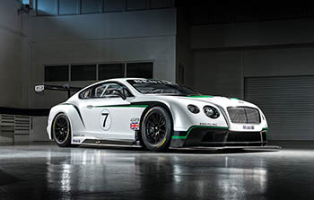Bentley Continental GT3 Racecar