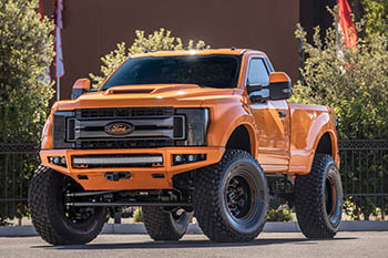 Ford Super Duty - платиновая серия современного грузовика