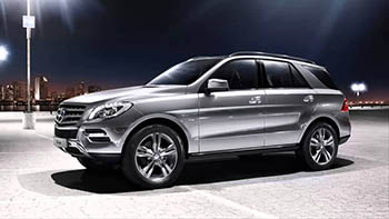 Mercedes-Benz ML 500 4MATIC BlueEFFICIENCY - новый внедорожник