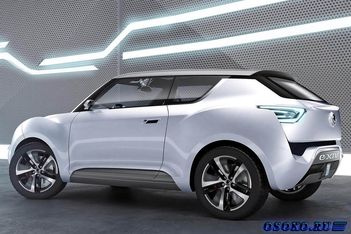 Ssangyong е-XIV Convertible Crossover Concept