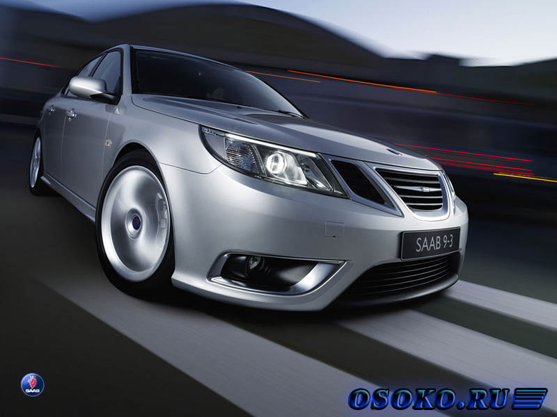 Saab 9-3 Sport Sedan 2.0t Vector : Fasten belts! Пристегните ремни