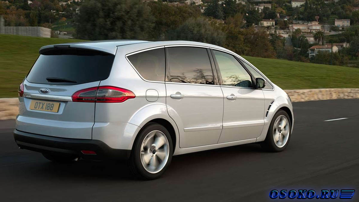 FORD S-MAX характеристики