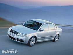 Skoda Superb 2. 5 V6 TDI